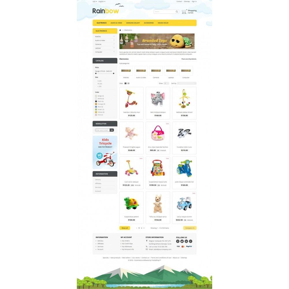 theme - Дети и Игрушки - Rainbow Store - 3