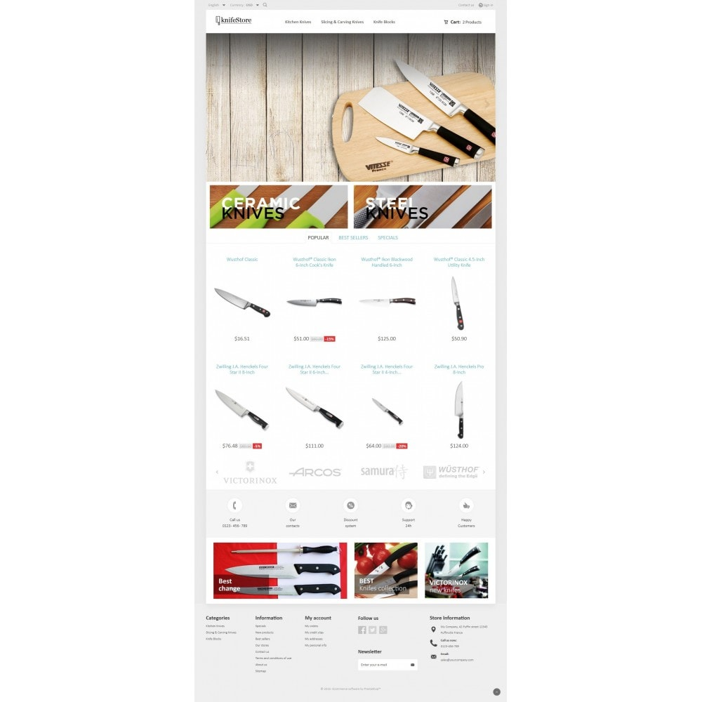 theme - Home & Garden - Knife Store - 4