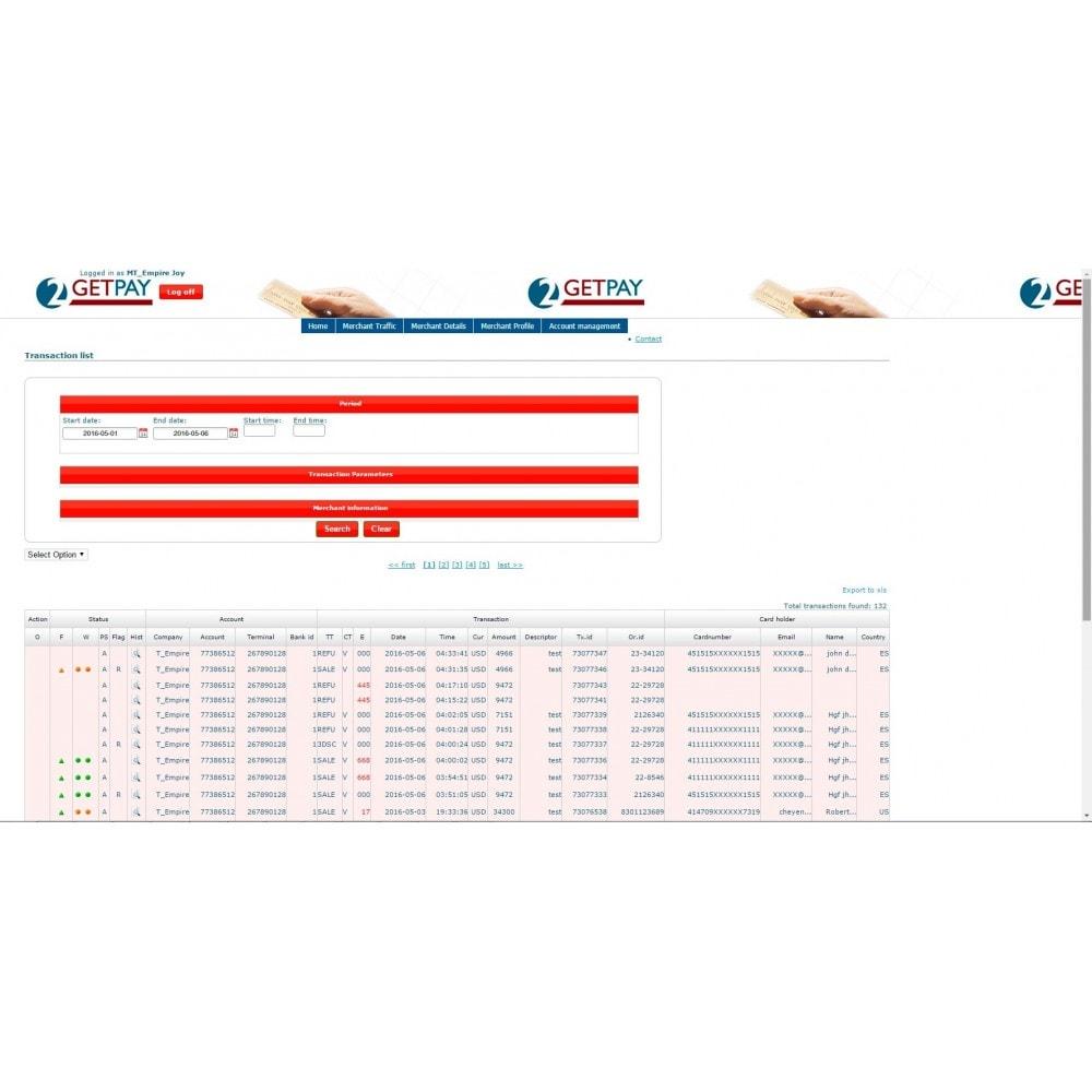 module - Paiement par Carte ou Wallet - 2getpay payment gateway & credit card - 3