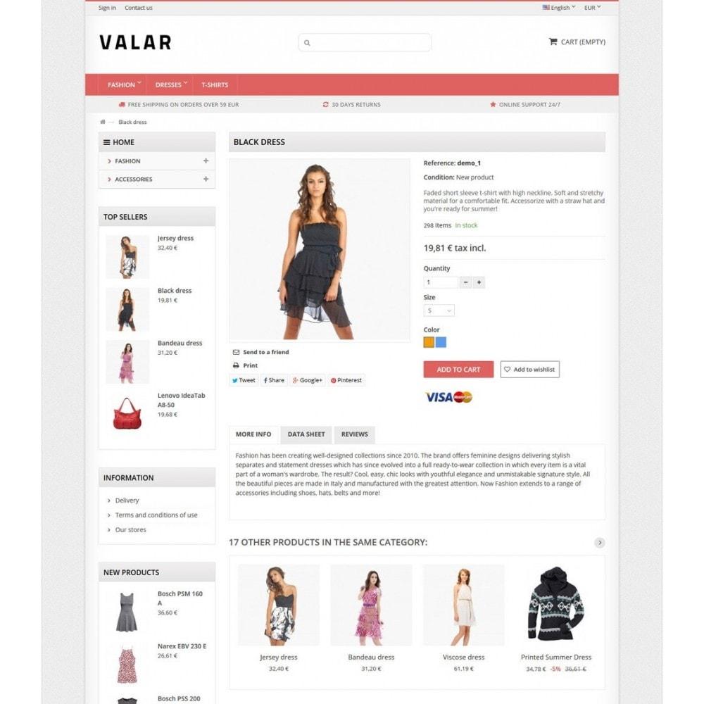 theme - Mode & Chaussures - Valar - 7