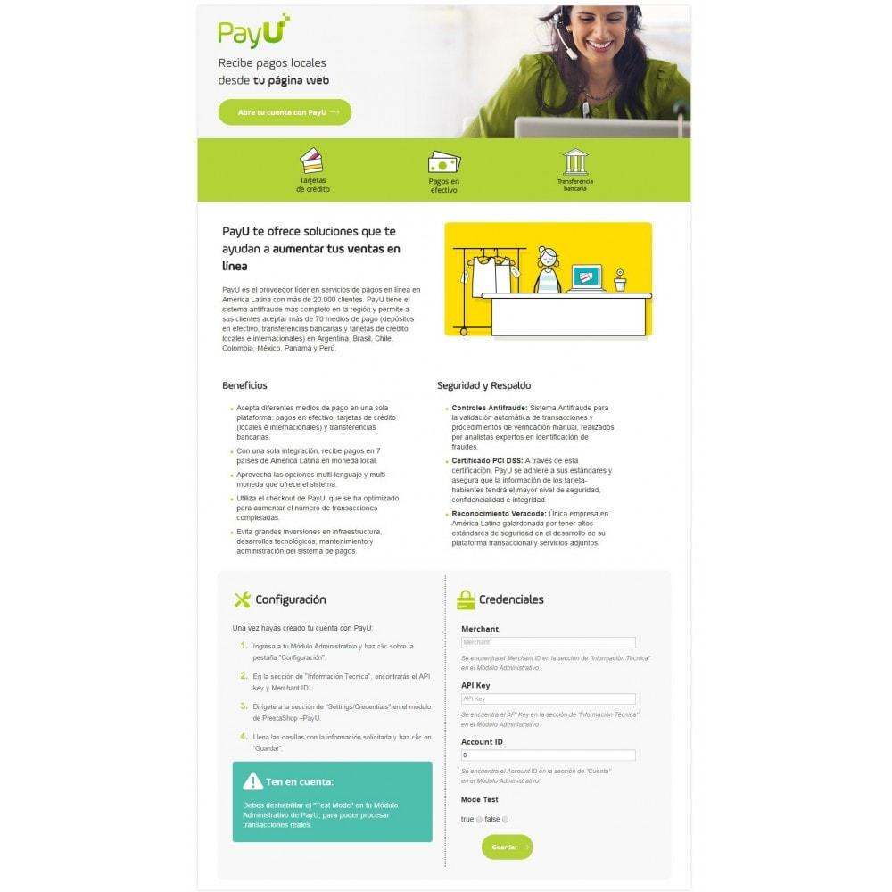 module - Pagamento por cartão ou por carteira - PayU Latam - 2