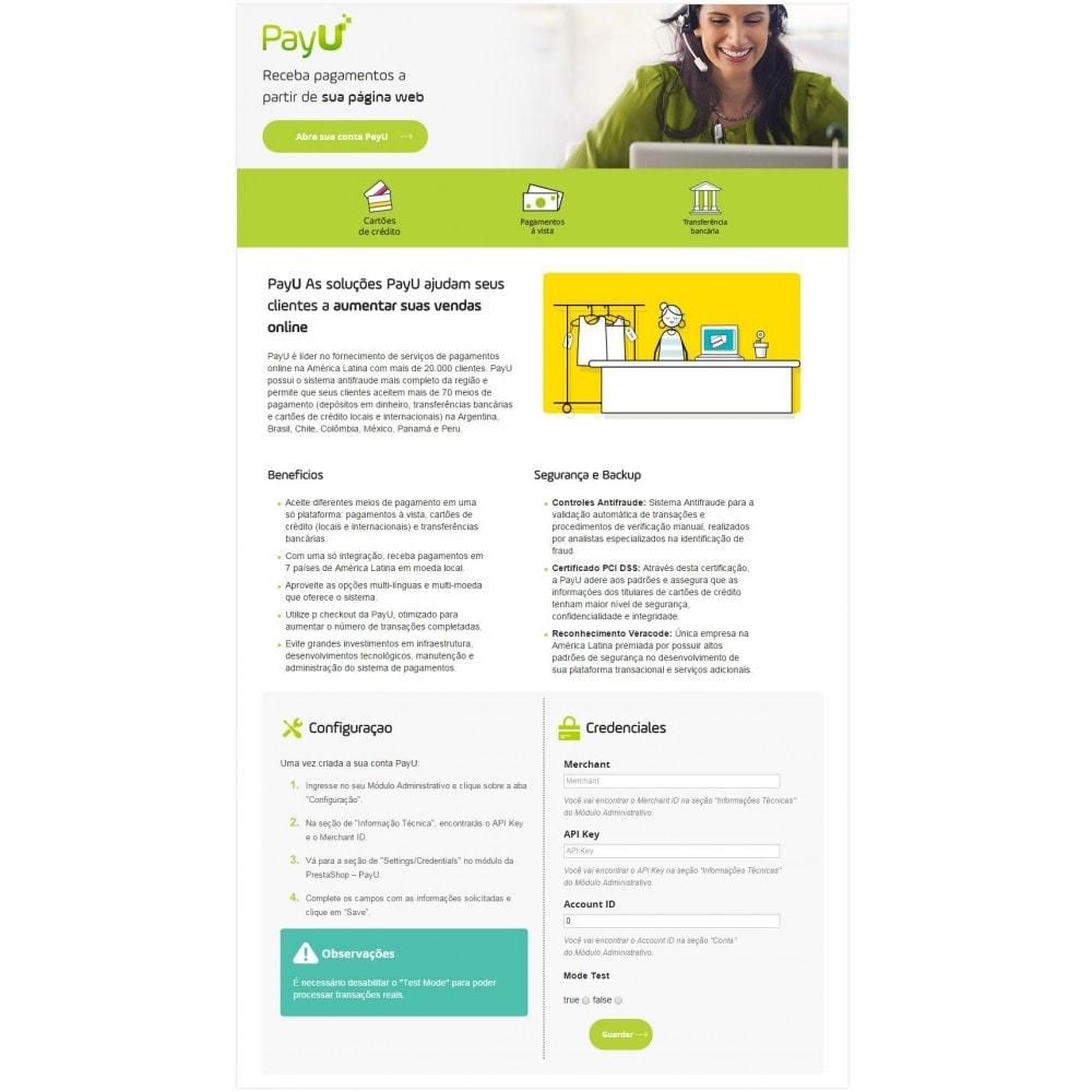 module - Pagamento por cartão ou por carteira - PayU Latam - 3