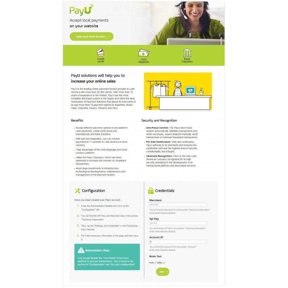 module - Pago con Tarjeta o Carteras digitales - PayU Latam - 1
