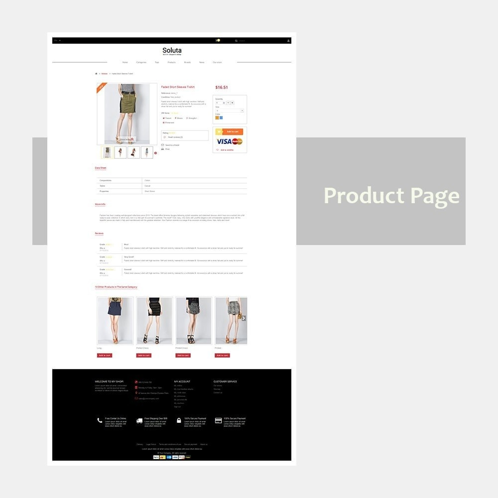 theme - Mode & Chaussures - Sapotaceae Clothing Store - 9