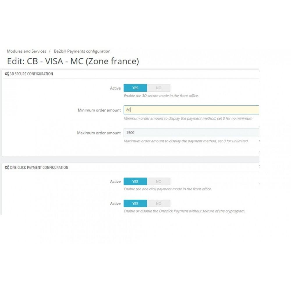 module - Paiement par Carte ou Wallet - Dalenys - Le service de paiement orienté CONVERSION - 3