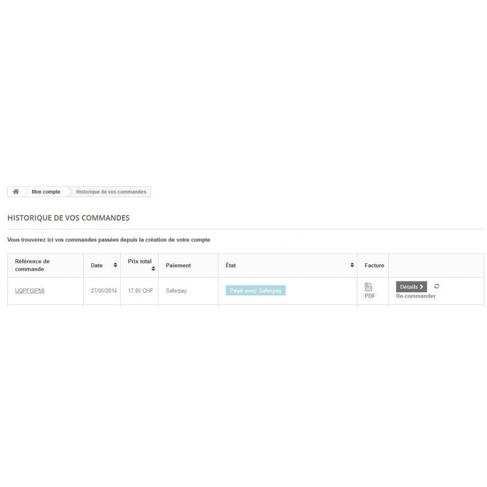 module - Zahlung per Kreditkarte oder Wallet - Saferpay / Six Payment Services - 8