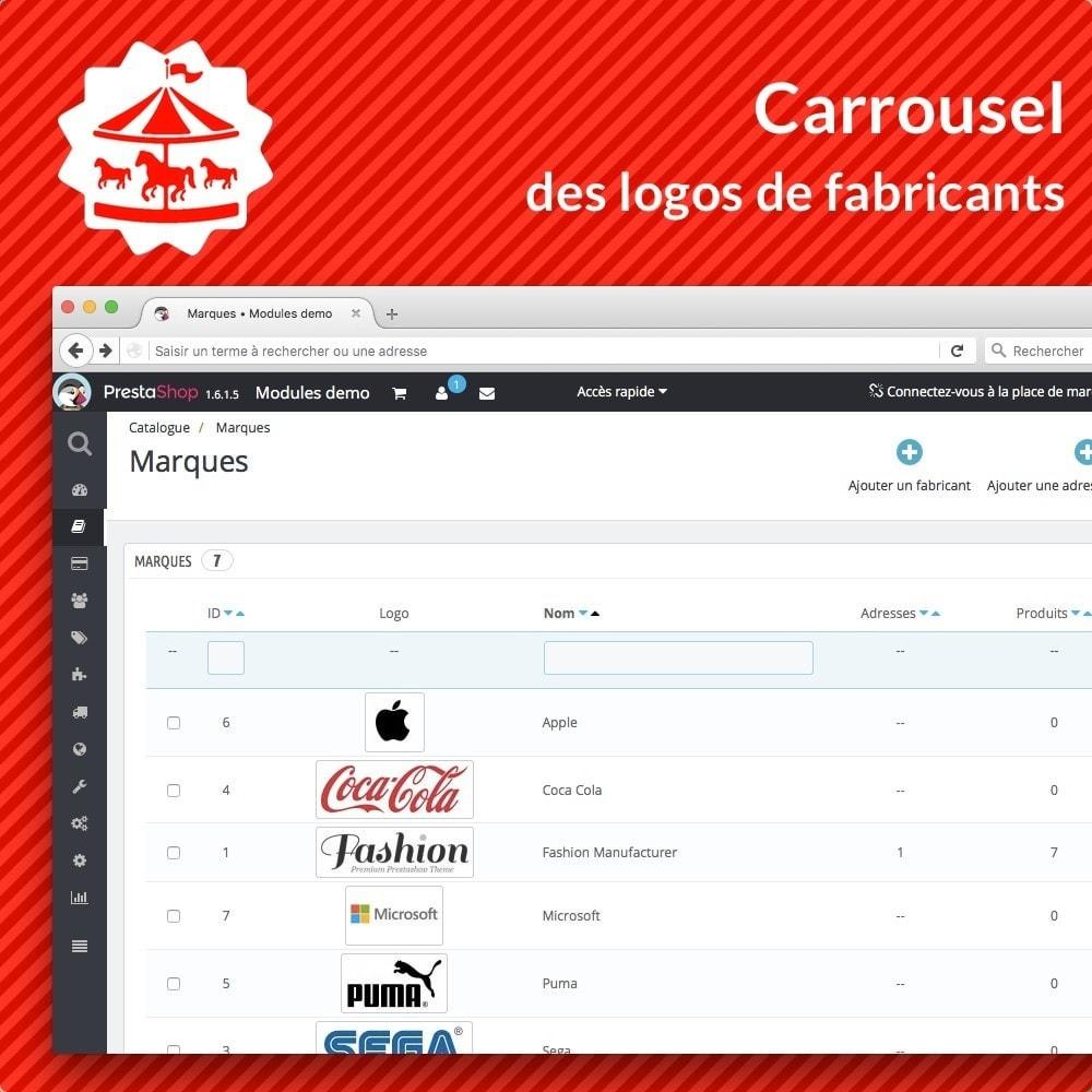 module - Marques & Fabricants - Carousel des logos de fabricants - 3