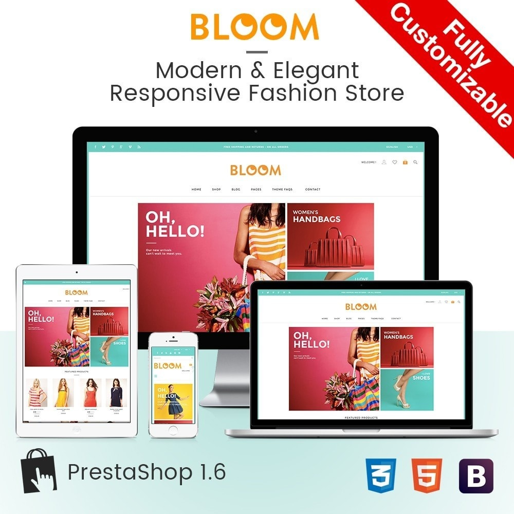 theme - Moda & Calçados - Bloom | Clothing Fashion Store - 1