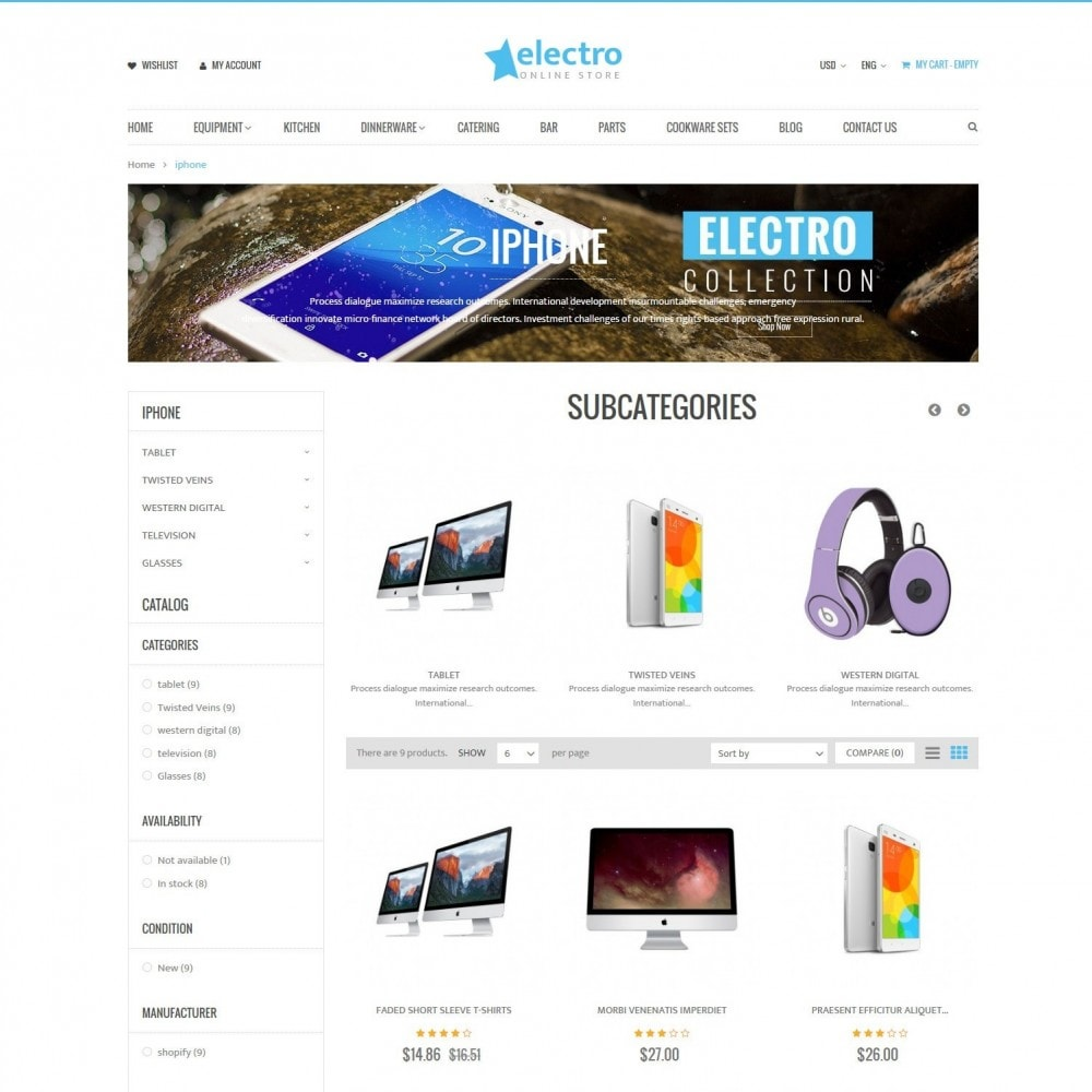 theme - Электроника и компьютеры - Electro | Electronics Computers High Tech Store - 3