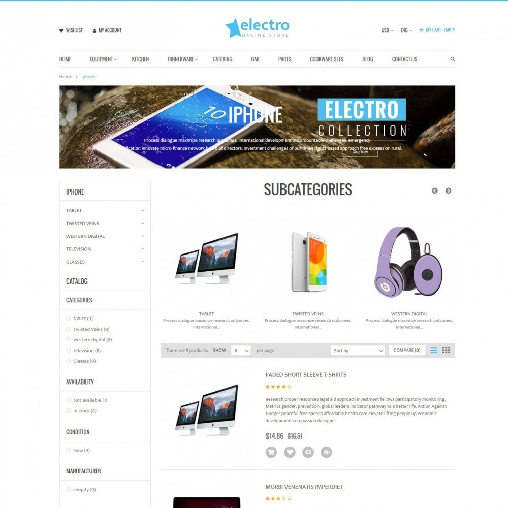 theme - Электроника и компьютеры - Electro | Electronics Computers High Tech Store - 4