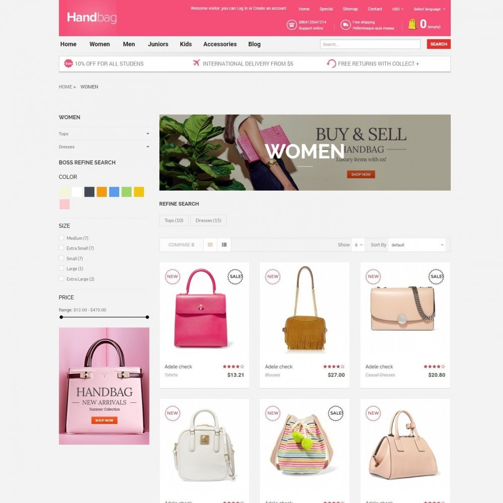 theme - Jewelry & Accessories - HandBag | Fashion Bags Store - 3