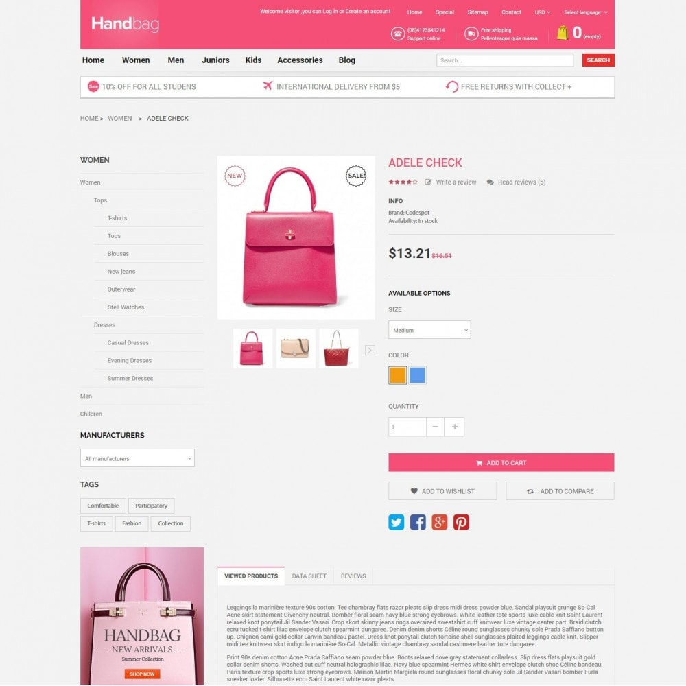 theme - Jewelry & Accessories - HandBag | Fashion Bags Store - 5