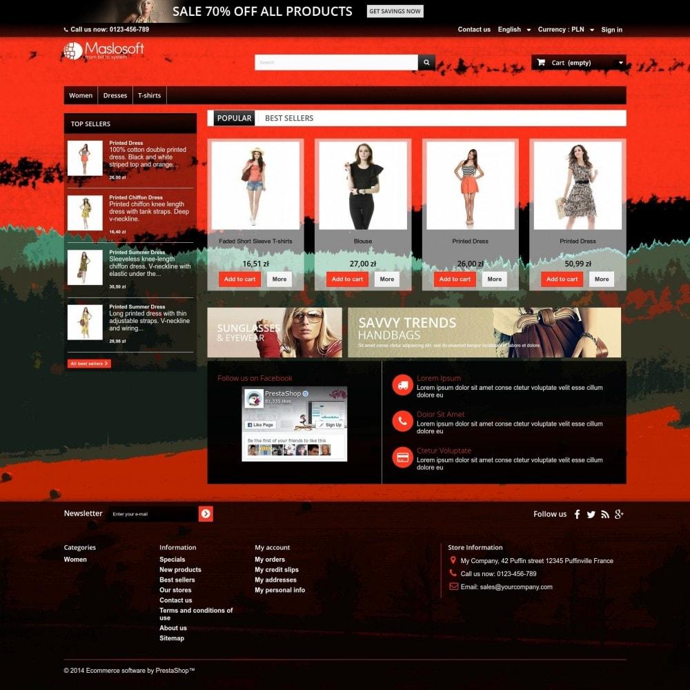 theme - Sport, Aktivitäten & Reise - Crimson Sunset - 1