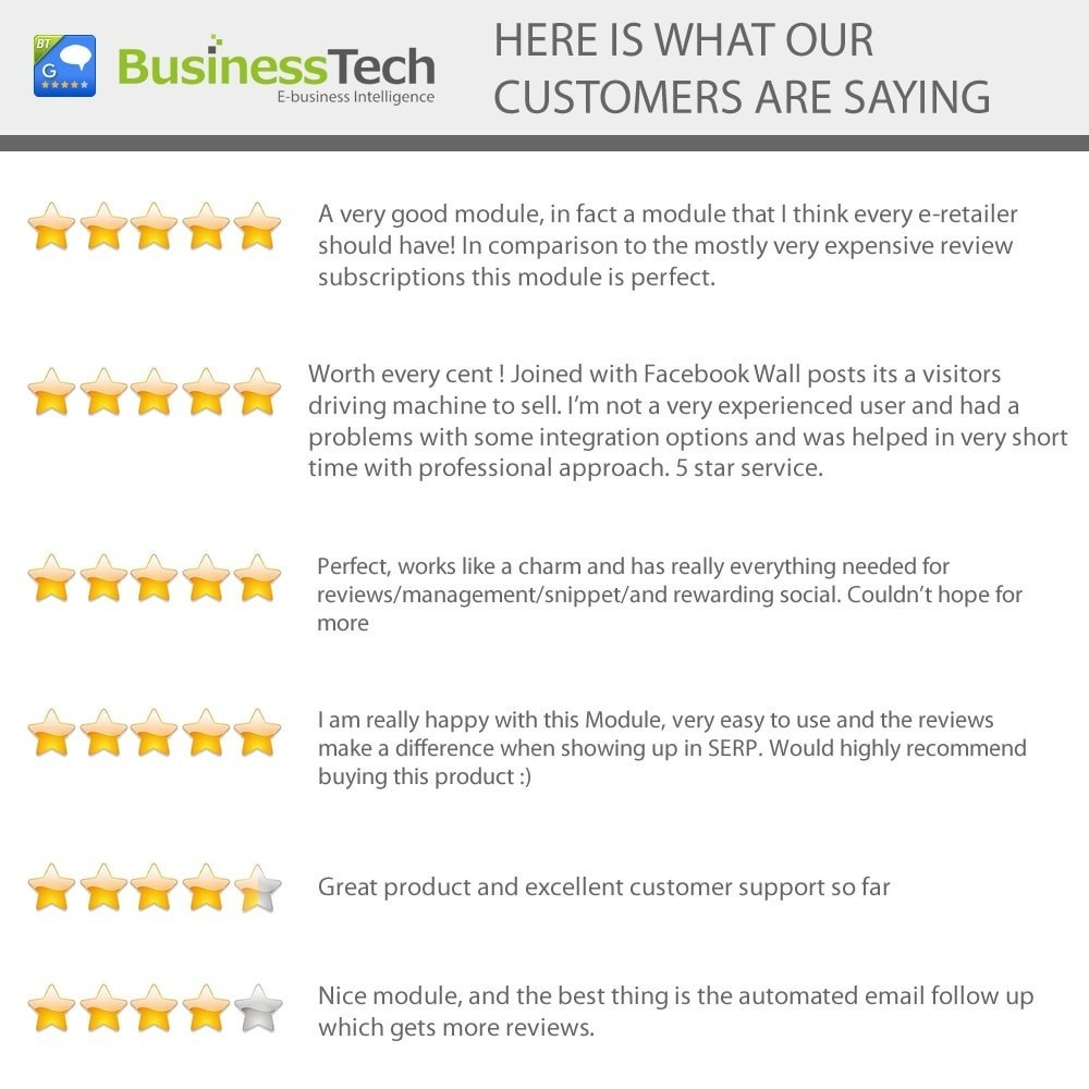 module - SEO - Customer Ratings and Reviews Pro + Google Rich Snippets - 2