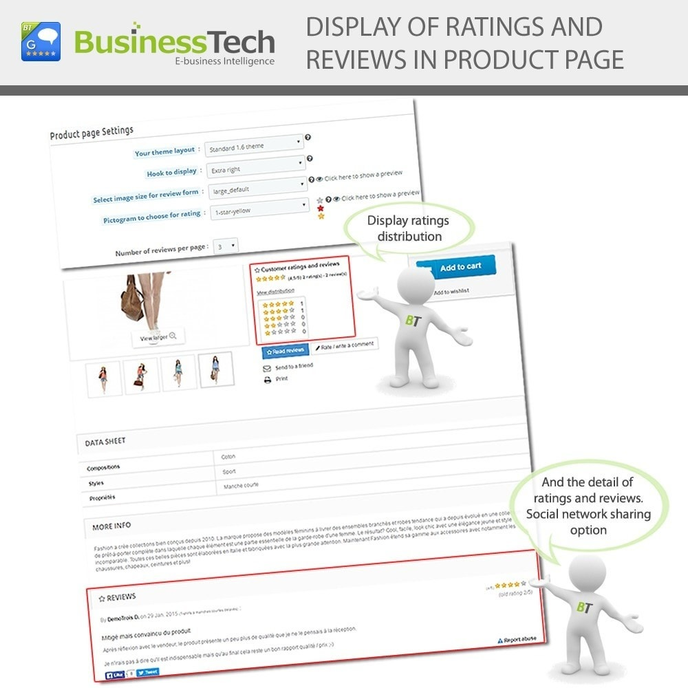 module - SEO (Posicionamiento en buscadores) - Customer Ratings and Reviews Pro + Google Rich Snippets - 7