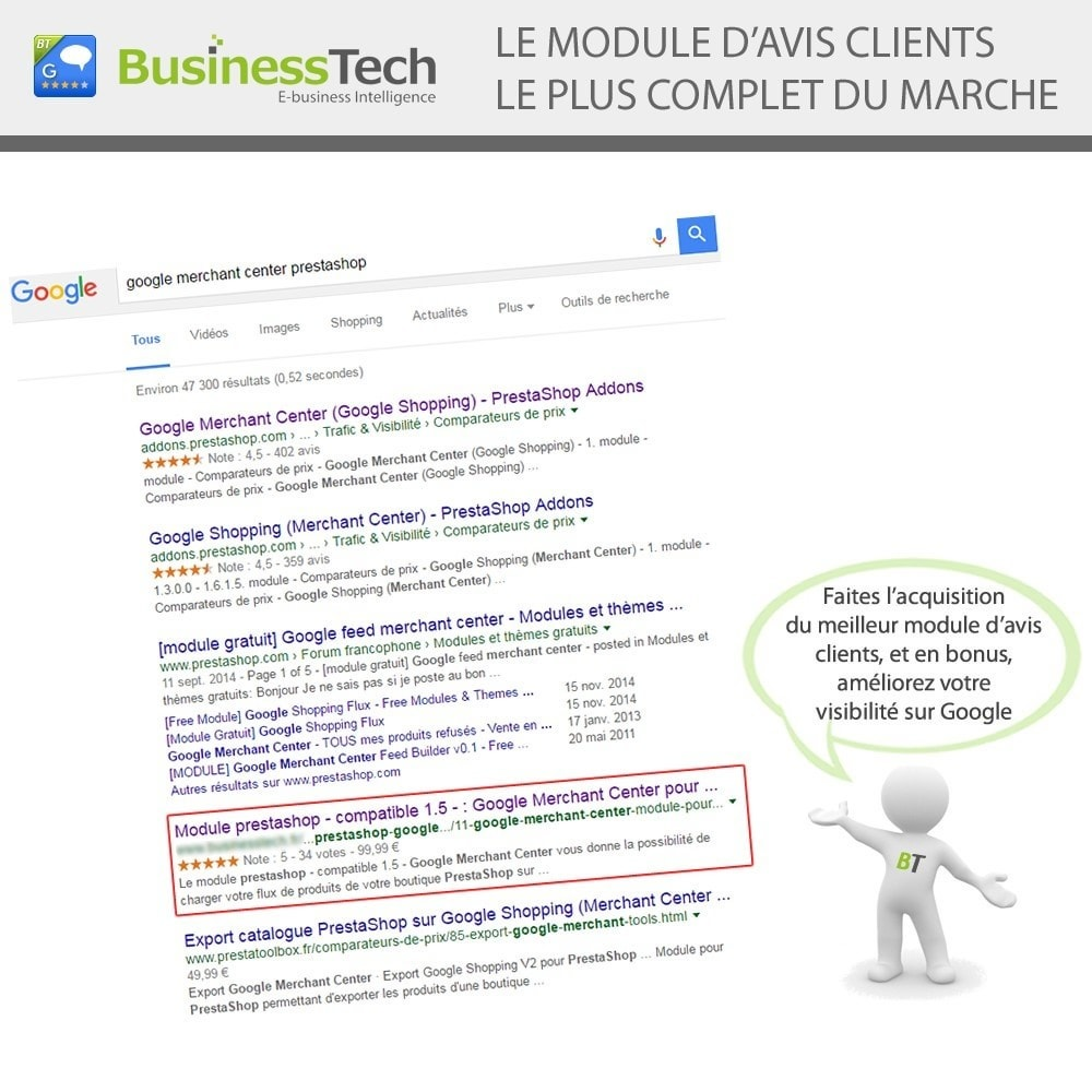 bundle - Modules PrestaShop - Google Adwords Starter - 3