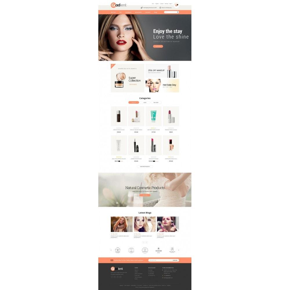 theme - Gezondheid & Schoonheid - Gradient Cosmetic Store - 2