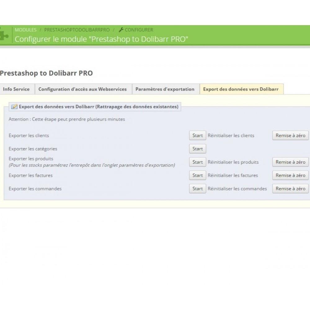 module - Connexion à un logiciel tiers (CRM, ERP...) - Prestashop to Dolibarr PRO - 6