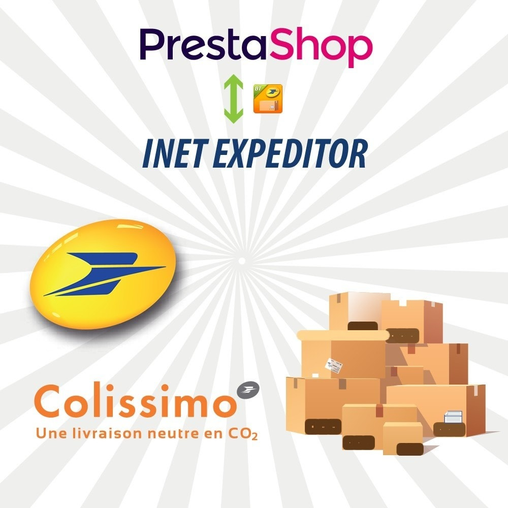module - Préparation & Expédition - INET Expeditor Pro pour La Poste & Colissimo - 1