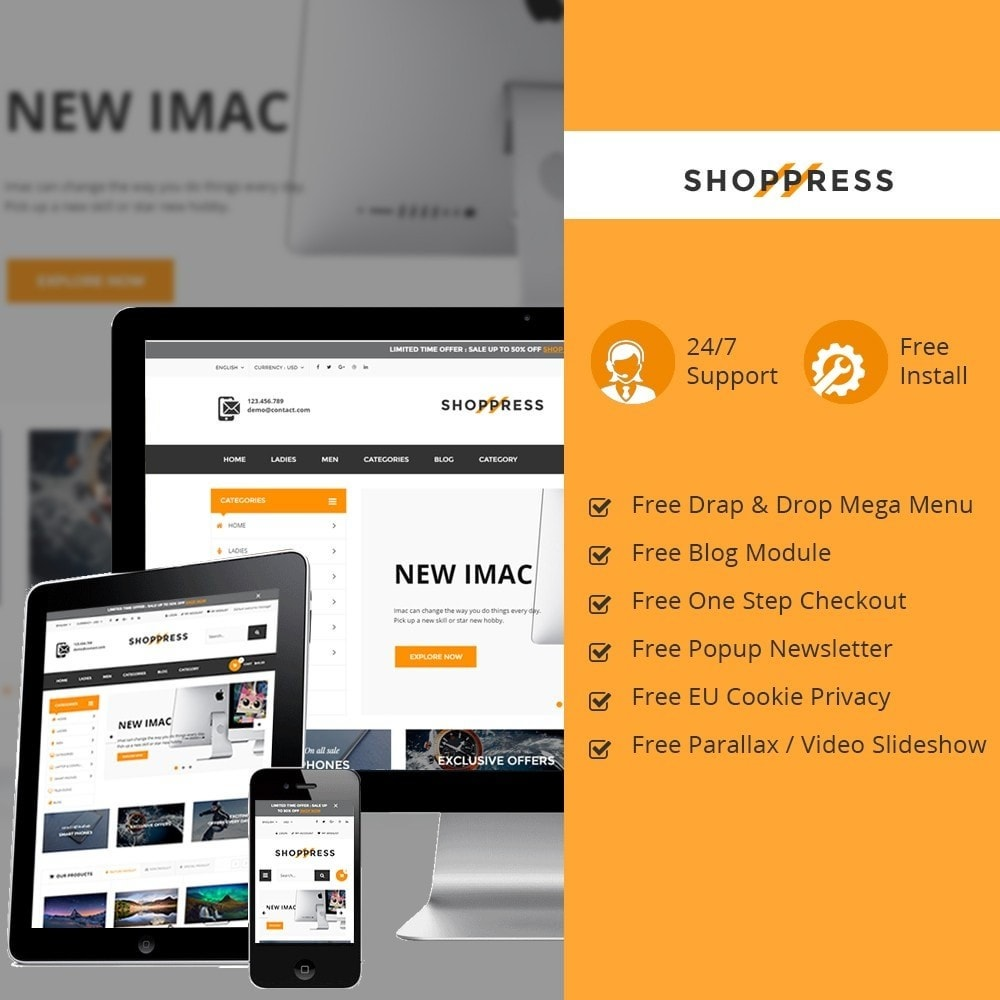 theme - Electronics & Computers - Shoppress Market Premium - 1