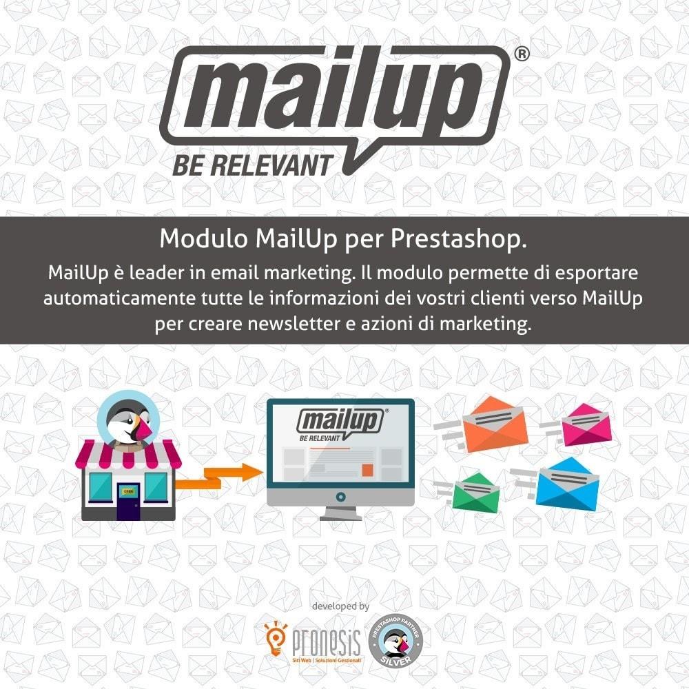 module - Newsletter & SMS - MailUp - 1