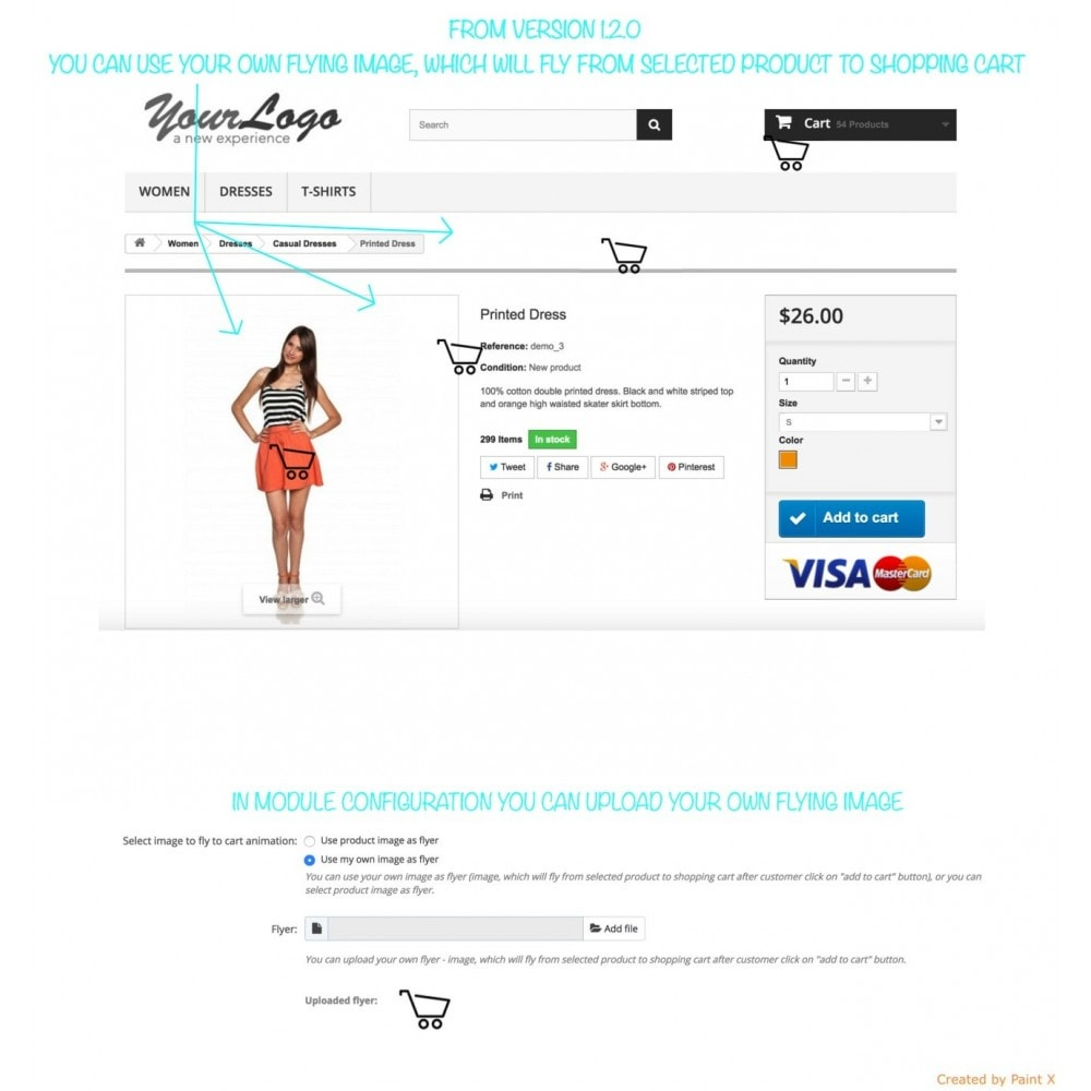 module - Registration & Ordering Process - Add To Cart Fly Effect, Hide Popup and Other Animations - 10