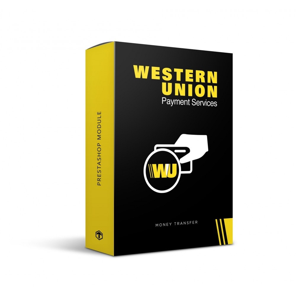 module - Creditcardbetaling of Walletbetaling - Western Union with Online Payment button - 1
