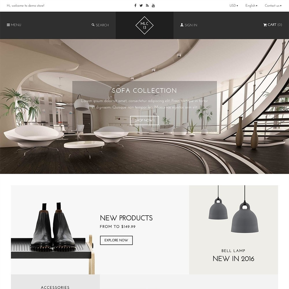 theme - Home & Garden - mlc13 - A Flexible Homeware and Furniture e-Commerce - 2