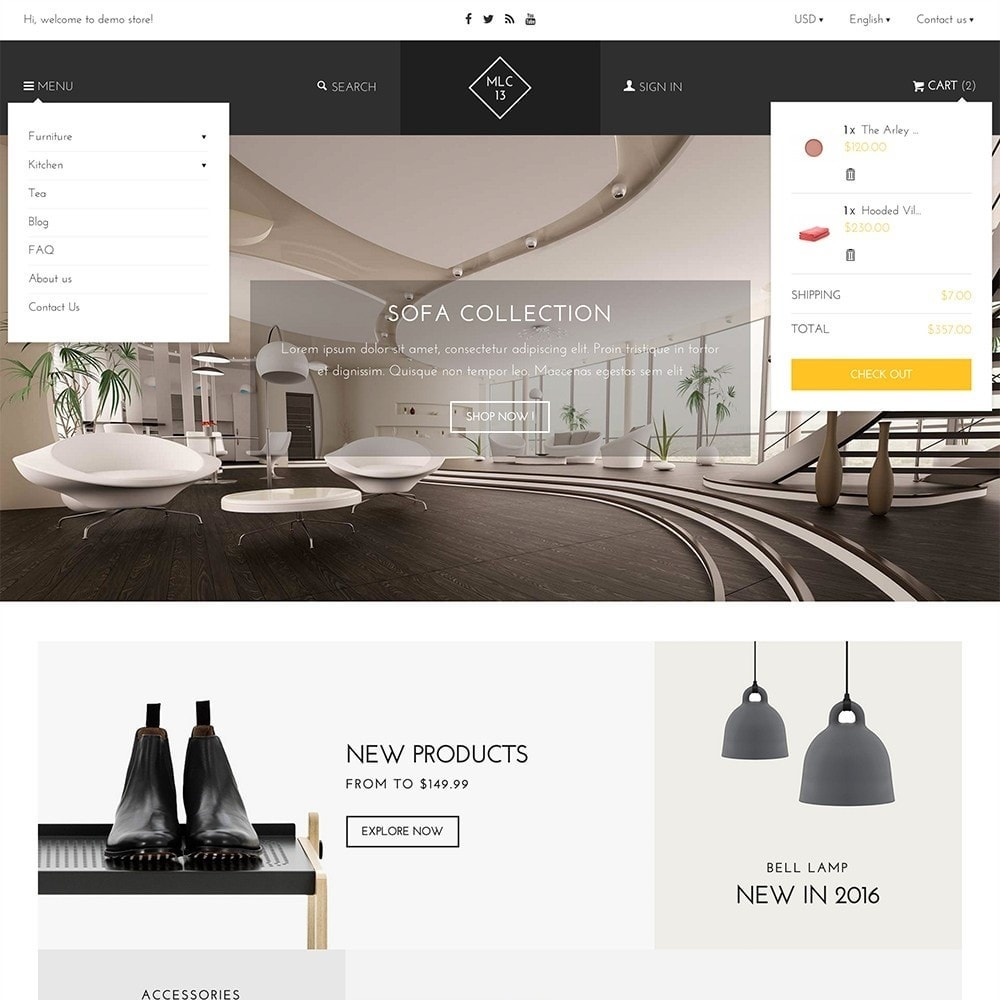 theme - Home & Garden - mlc13 - A Flexible Homeware and Furniture e-Commerce - 3