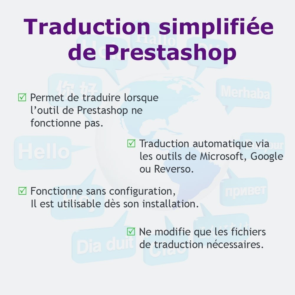 module - International & Localisation - Traduction simplifiée - 1