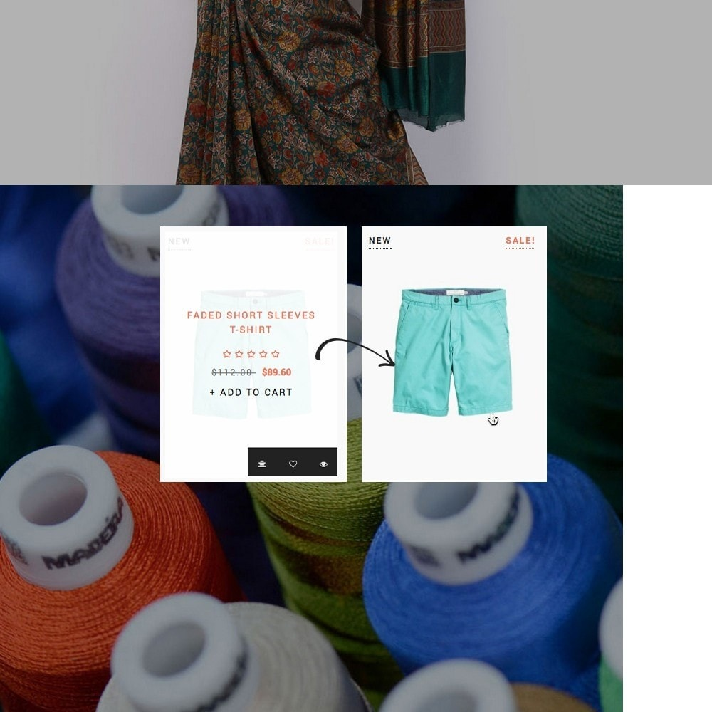 theme - Мода и обувь - Ap Silk - 5