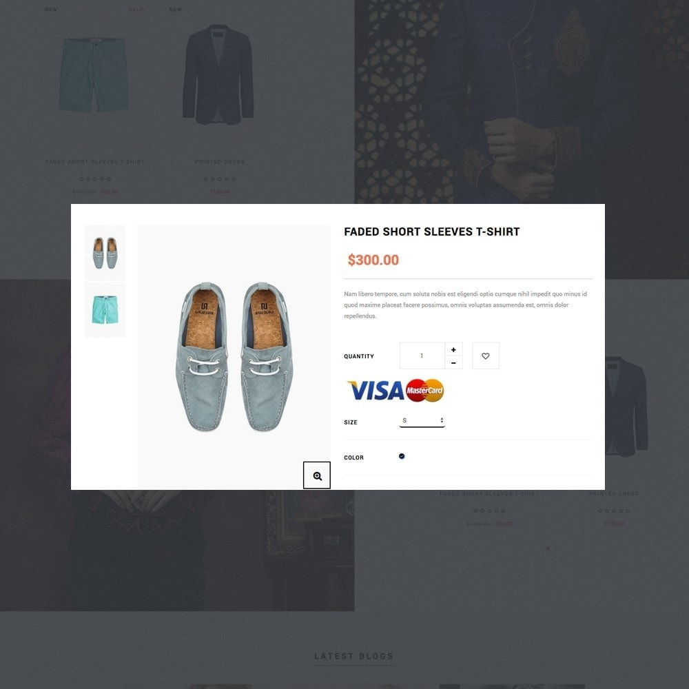 theme - Мода и обувь - Ap Silk - 6