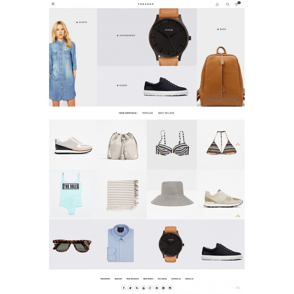 theme - Fashion & Shoes - THESHOP - 2