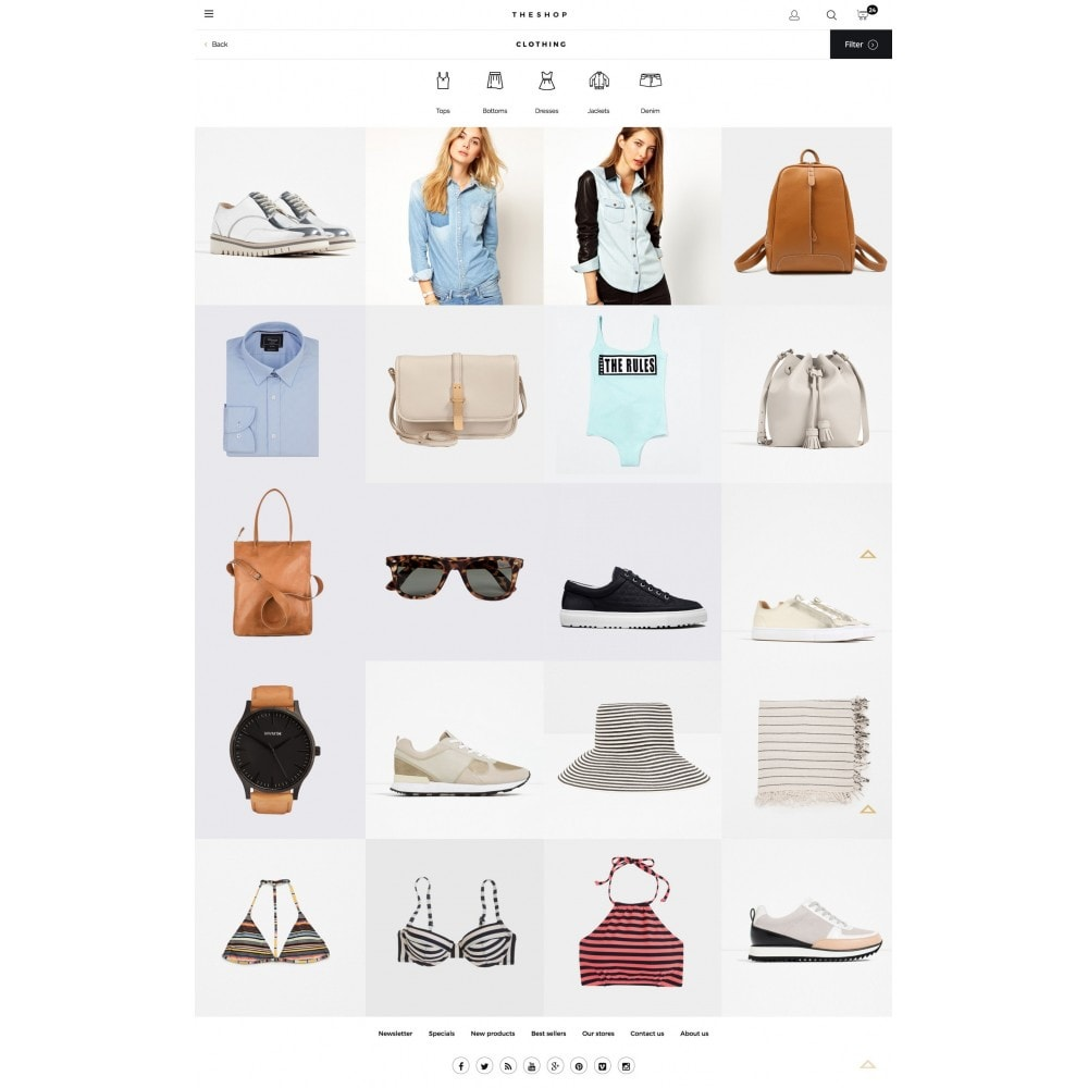 theme - Fashion & Shoes - THESHOP - 3