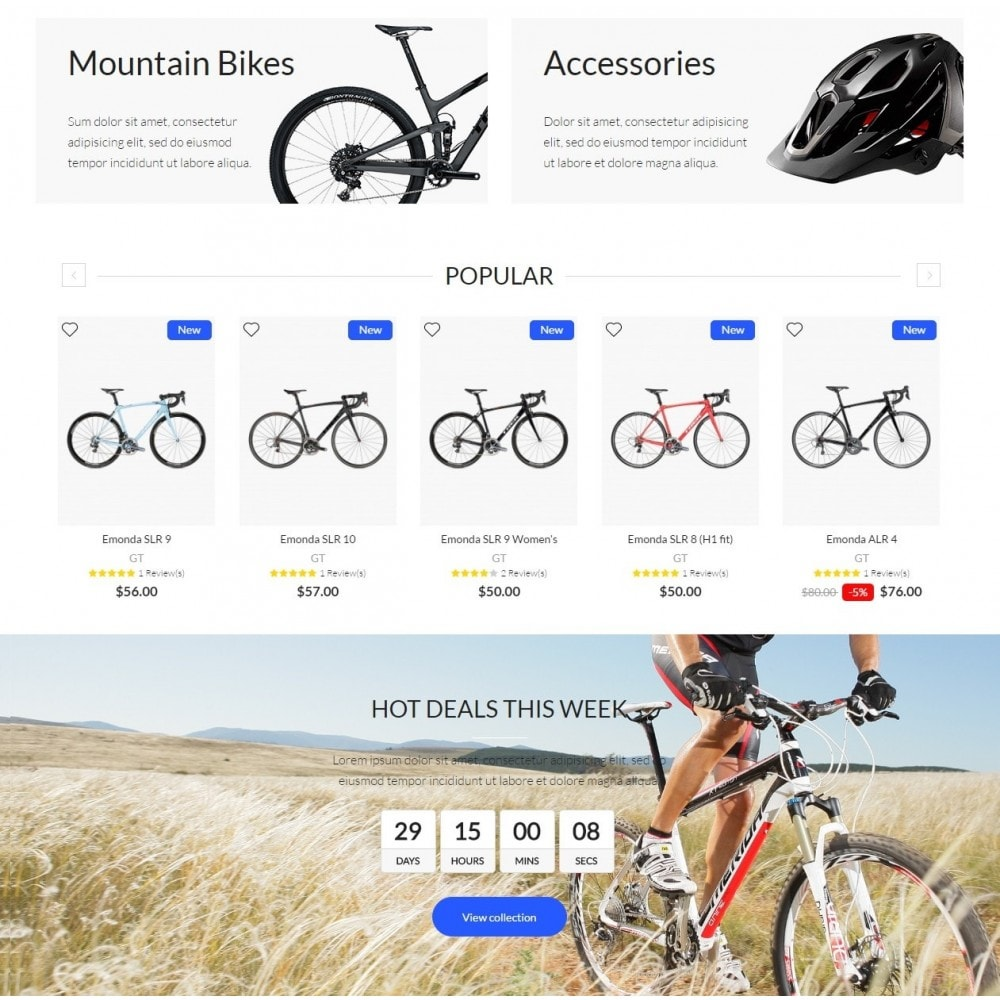 theme - Desporto, Actividades & Viagens - Bike Rider Shop - 3