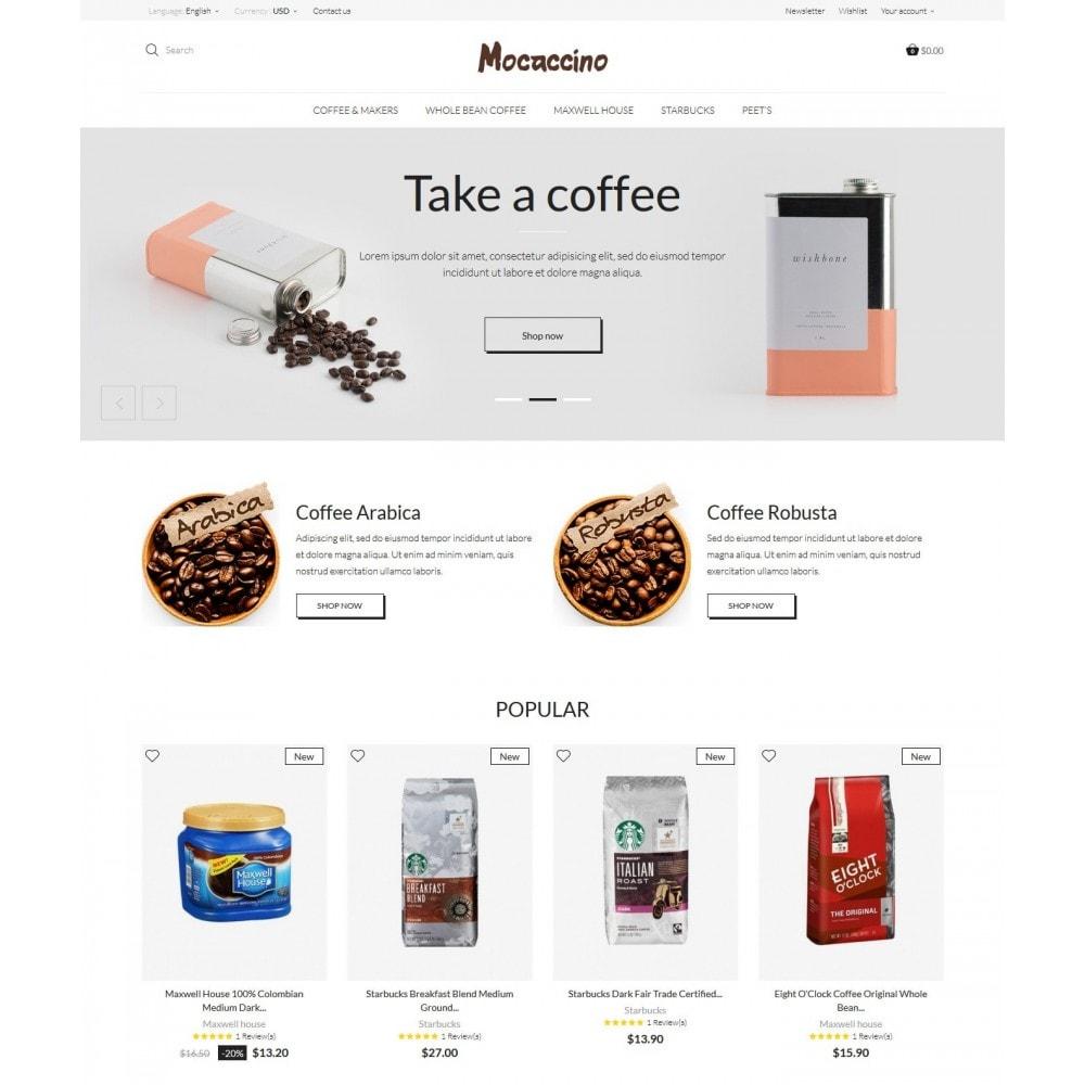 theme - Drink & Tobacco - Moccacino Coffe Store - 2