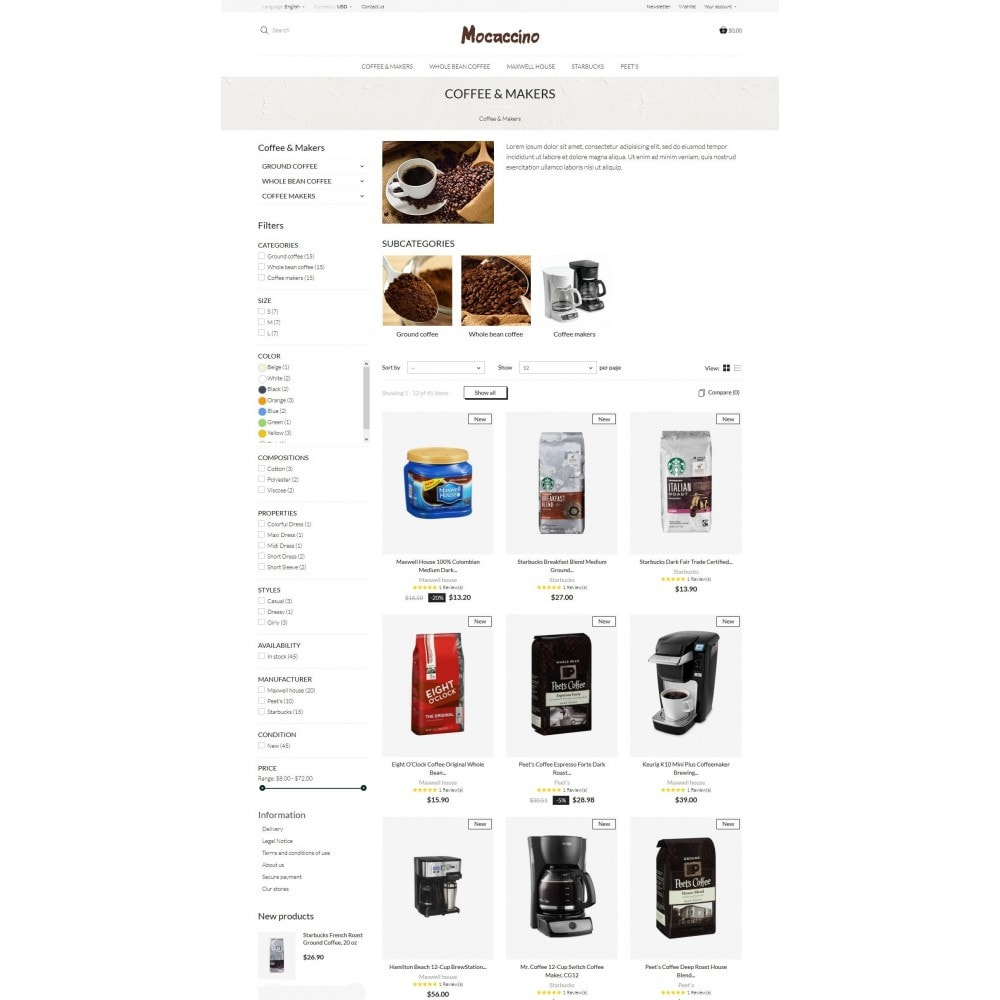 theme - Drink & Wine - Moccacino Coffe Store - 6