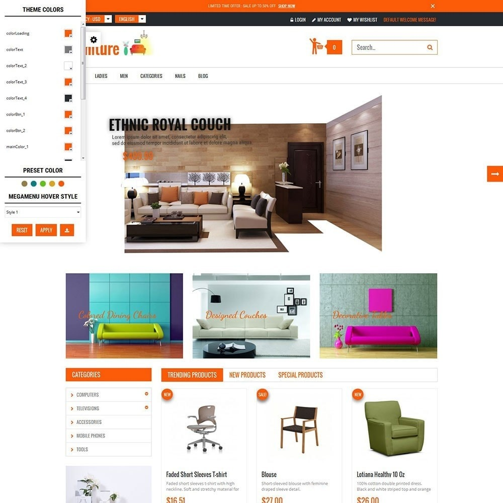 theme - Дом и сад - Furniture Interior Store - 4