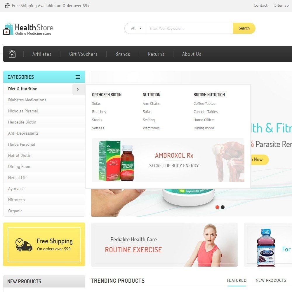 theme - Health & Beauty - Medicine Store - 7