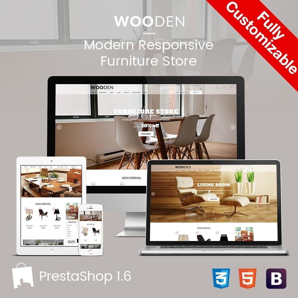 theme - Dom & Ogród - Wooden | Home & Furniture - 1