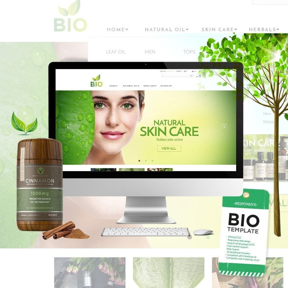 theme - Santé & Beauté - Water - Bio Medical - 1