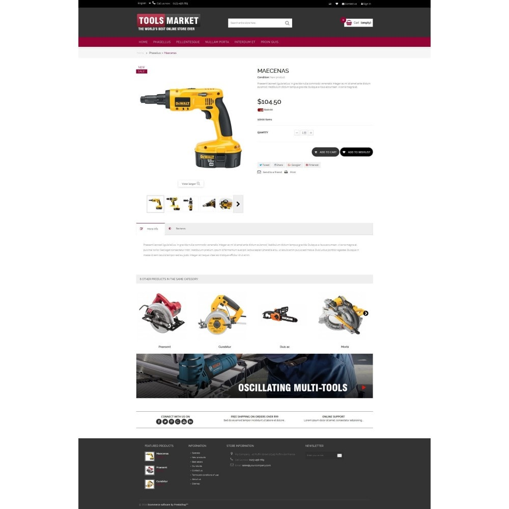 theme - Huis & Buitenleven - Home Tools Market DD001 - 4