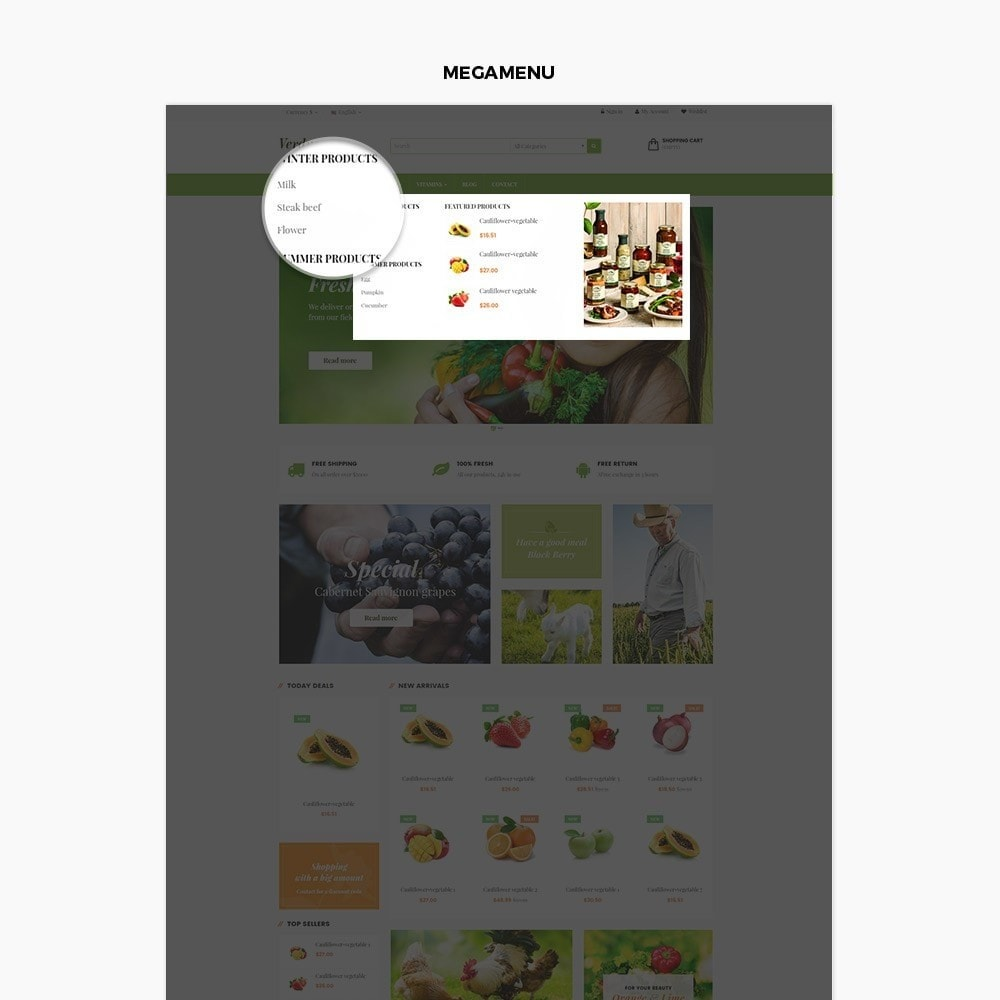 theme - Lebensmittel & Restaurants - Ap Farm - 3