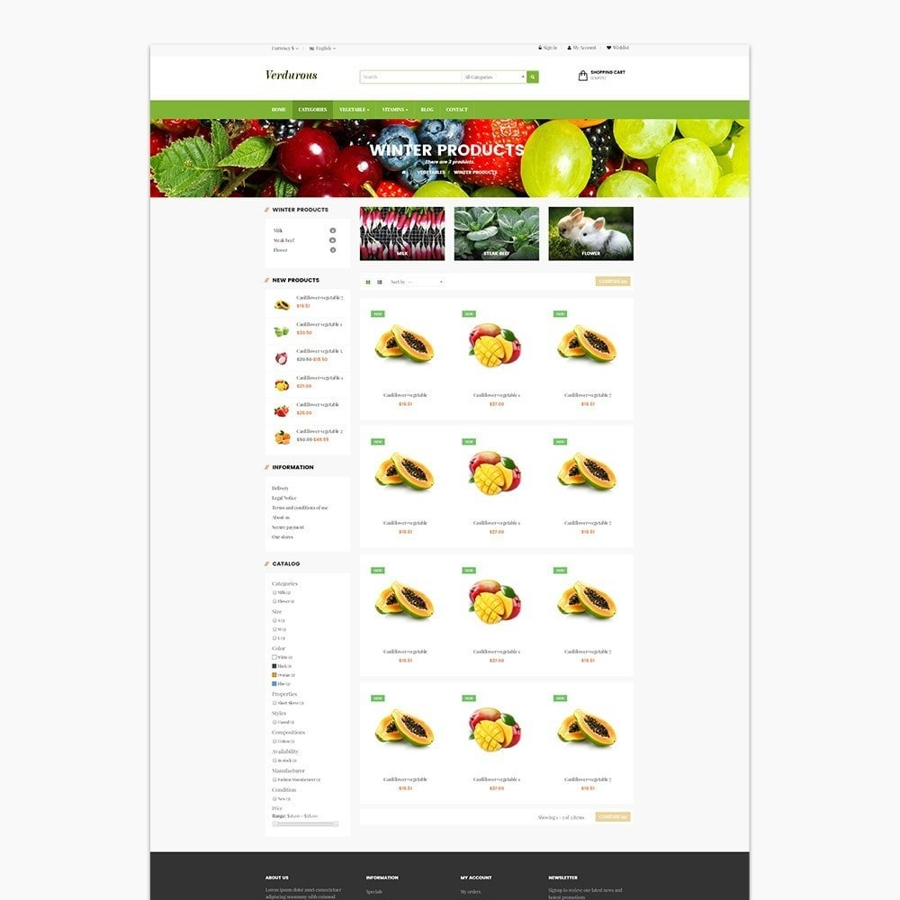 theme - Lebensmittel & Restaurants - Ap Farm - 4