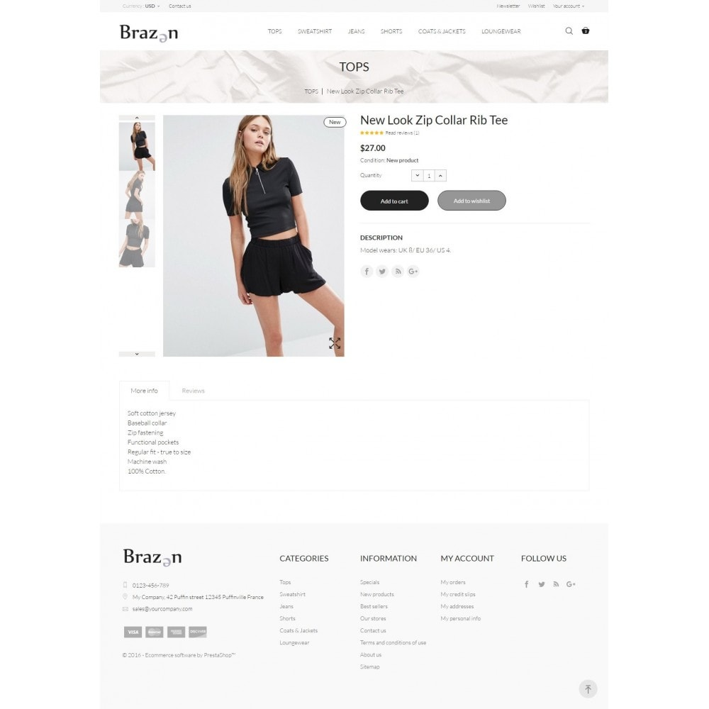 theme - Moda & Obuwie - Brazen Fashion Store - 7