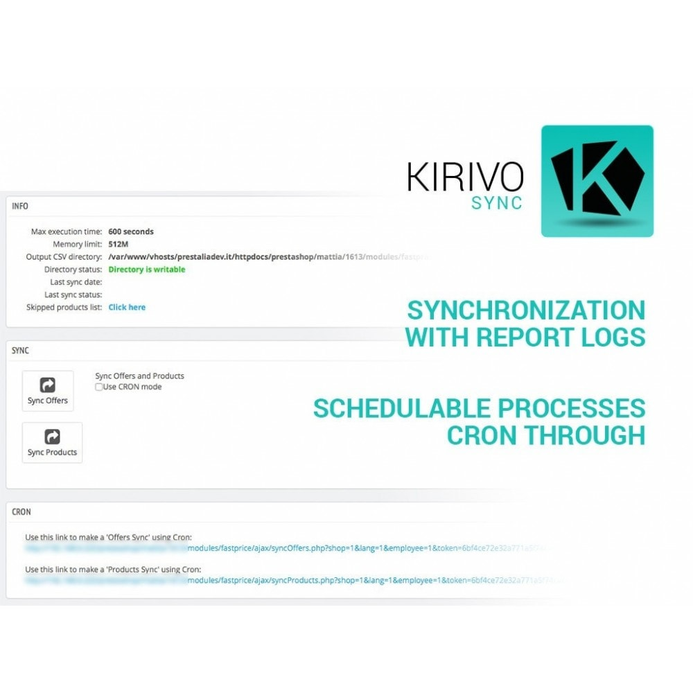 module - Marktplätze - Sync your PrestaShop store with Kirivo marketplace - 7