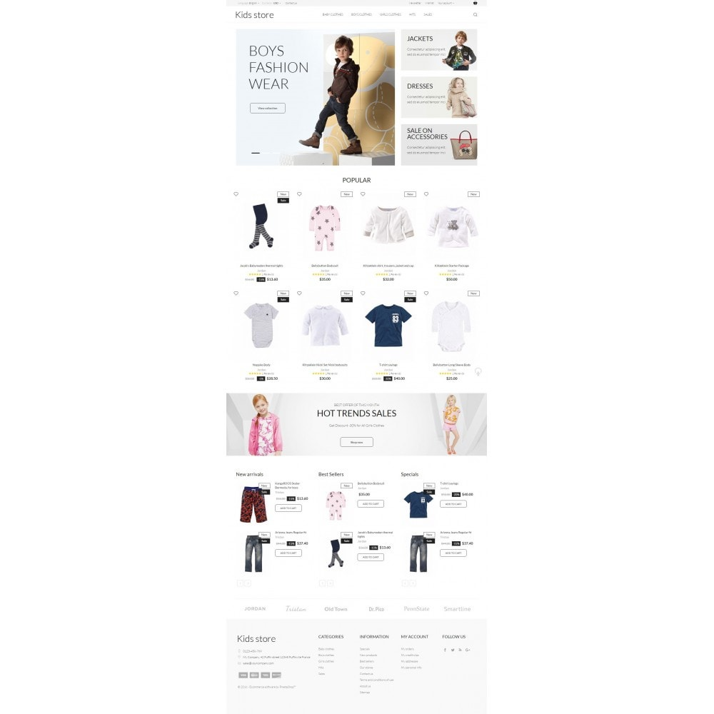 theme - Fashion & Shoes - Kids store - 4
