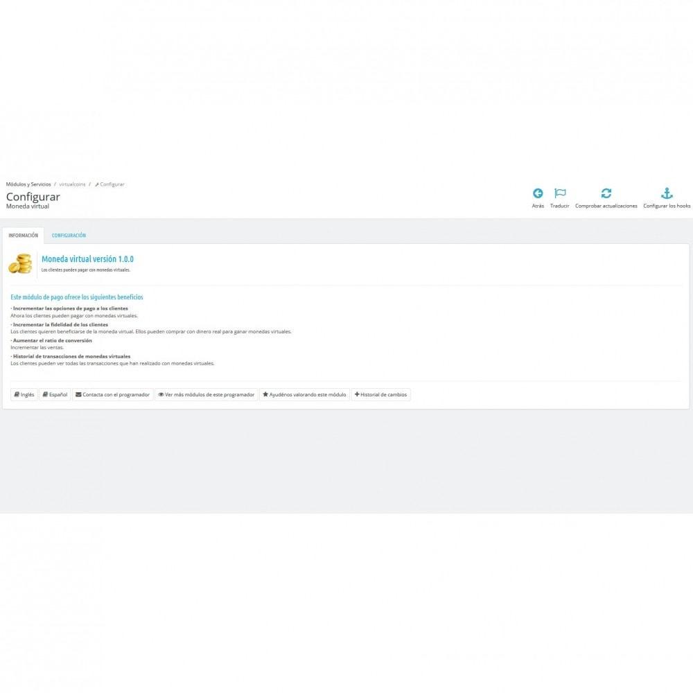 module - Otros métodos de pago - Monedas virtuales - 11