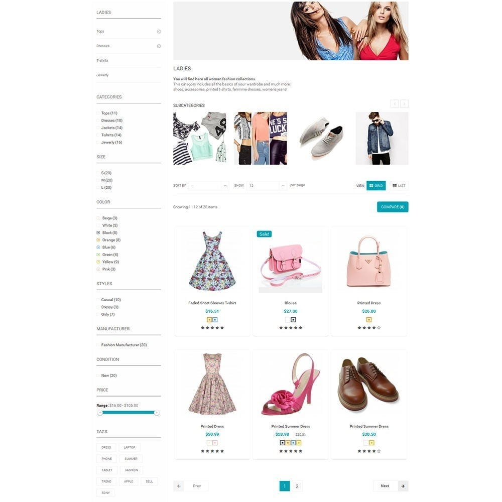 theme - Мода и обувь - Shopzone Fashion Store - 7