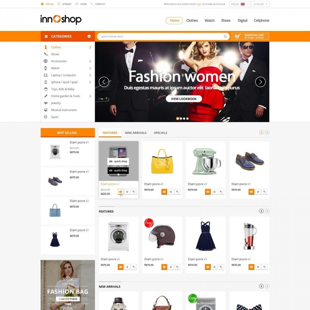 theme - Elektronika & High Tech - Innoshop | Fashion Electronis Supermarket - 2